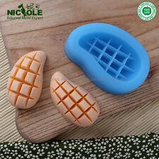 Mango Silicone Soap Molds Baking Fondant Cake DIY Tools Chocolate Candy Mould