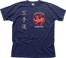 SHOTOKAN KARATE Martial Arts MMA UFC navy cotton t-shirt 01460