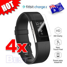 4X For Fitbit Charge 2 Compact TPU Hardness LCD Screen Protector Real Films AU