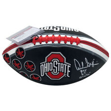 ARCHIE GRIFFIN OHIO STATE BUCKEYES SIGNED BLACK FOOTBALL (PSA COA)