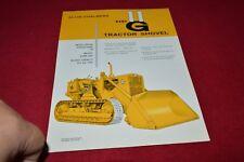 Allis Chalmers HD-11G Crawler Tractor Loader Dealers Brochure YABE14