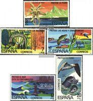 Spanien 2361-2365 (kompl.Ausg.) postfrisch 1978 Sondermarken