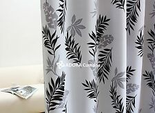 LEAVES PRINT: TOP QUALITY BLOCKOUT BLACKOUT Eyelet Curtain