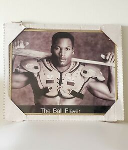 """Vintage Bo Jackson  Poster """"The Ball Player"""" 16x20 Iconic Image Framed"""