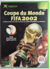 Jeu COUPE DU MONDE FIFA 2002 sur microsoft XBOX francais game de foot sport #1