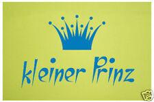 """Wanddesign, Wandtattoo """"kleiner Prinz""""  mit Krone 40x26cm"""