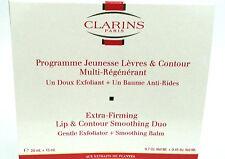 CLARINS anti envejecimiento Bálsamo para labios extra afirmantes Plus labio & Contorno Exfoliante * Para ver *