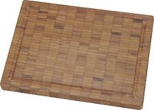 Zwilling La tabla de cortar cocina bambú madera tablero Aprox. 25x18,5cm
