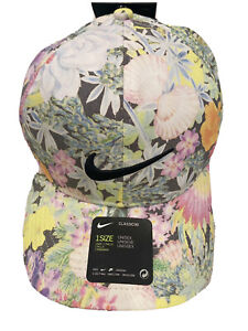 Nike Brooks Koepka Aerobill 99 Floral Print Hat US Open Pebble Beach NWT