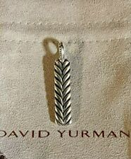 chevron ingot tag David Yurman sterling silver