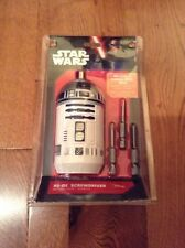 Star Wars R2-D2 Screwdriver Includes 3 Forged Steel Bits New Rare Disney VII
