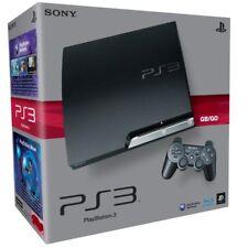 PS3 PLAYSTATION 3 - CONSOLE SLIM 120/160 GB + JOYPAD + 4 GIOCHI -GARANZIA 1 ANNO