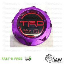Purple TRD Style Aluminium Oil Filler Cap for Toyota Glanza Supra Soarer Chaser