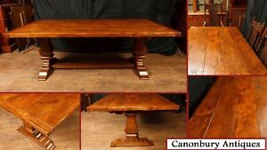 Oak Refectory Table - Kitchen Farmhouse Dining Tables