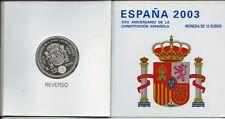 CARTERA 12 EUROS ESPAÑA 2003