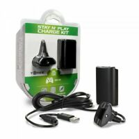 XBOX 360 STAY N PLAY CHARGE KIT IS BRAND NEW FREE SHIPPING