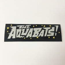 """The Aquabats sticker - official band promo 7"""" sticker decal - FREE SHIPPING"""