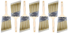 "3"" Angle House Wall,Trim Paint Brush Set Home Exterior or Interior Brushes"