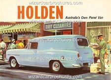 1961 HOLDEN FB EK VAN PANEL VAN A3 POSTER AD BROCHURE ADVERT ADVERTISEMENT