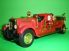 TEXACO 1929 MACK FIRE TRUCK PUMPER SPECIAL GOLD EDITION - 1998 - #15 in Series