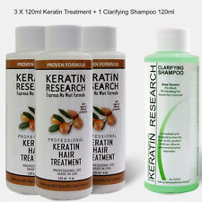 Brazilian complex hair Keratin Blowout Treatment 360ml with Clarifying Shampoo