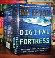 Brown, Dan DIGITAL FORTRESS A Thriller Revised Edition 1st Printing