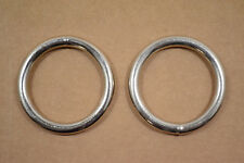 "O Ring - 1 1/2"" - Stainless Steel - Wire Welded - Pack of 4 (F529)"