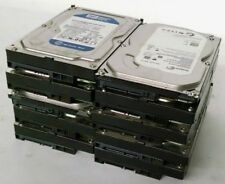 "LOT OF 10 320GB DESKTOP SATA HARD DRIVE MAJOR BRAND INTERNAL 3.5"" WARRANTY"