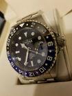 DAVOSA TERNOS Men's BLK/BLU 200M Watch - 16157145 SWISS GMT PROFESSIONAL