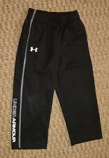 Under Armour boys black running pants size 4