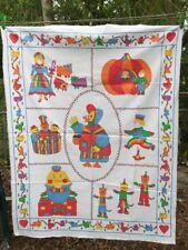 "General Greetings Vintage Nursery Rhymes Quit Panel 35"" x 45 1/2"" Cotton Fabric"
