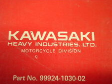 OEM Kawasaki 81-82 AR50 A1 AR80 A1 A1A Owners & Shop Service Manual Repair Book