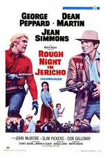 ROUGH NIGHT IN JERICHO Movie POSTER 27x40 Dean Martin Jean Simmons George
