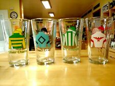 OLD FRIENDS TRIPLE CROWN WINS - PINT GLASS SET - OLD FRIENDS CHARITY