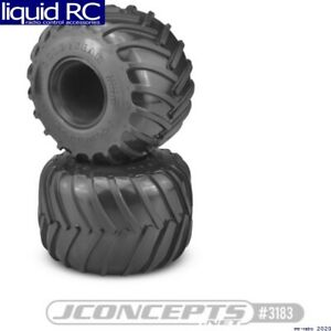 JConcepts 3183-01 Golden Years Monster Truck Tire Blue (Soft) Compound for 2.6x3