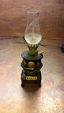 Pot Belly Stove Oil Lamp