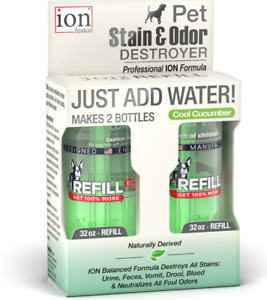 Ion Fusion Professional ION Formula Cool Cucumber Pet Stain & Odor Destroyer Ref