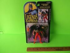 "Legends of Batman Knightquest Batman 5""in Figure w/Super-Flex Cape/Missile Cool!"