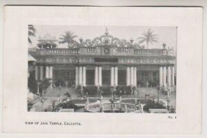India postcard - View of Jain Temple, Calcutta (A46)