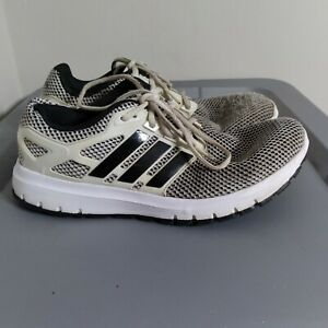 Adidas Energy Cloud Men's Size 9 Running Shoes Black/White Athletic Sneakers