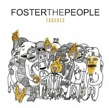 FOSTER THE PEOPLE CD - TORCHES (2011) - NEW UNOPENED