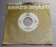 "Queen - Body Language USA 1982 Elektra Mono/Stereo Promo 7"" Single"