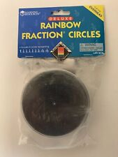 Learning Resources Rainbow Fraction Circles Overhead Manipulatives