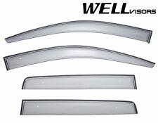 WellVisors CLIP ON Side Window Visors Deflectors Smoke For 07-UP Jeep Compass