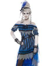 Burlesque Ghost Zombie Halloween Fancy Dress Costume Size M