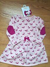 Gymboree Baby Girl 18-24m Fox Theme Dress & Hair Clips NWT Free Shipping