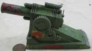 Vintage Manoil Barclay Field Artillery Cannon #1