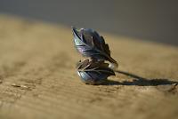 Sterling Silver Adjustable Statement Leaf Wrap Ring Plant Band Oak Tree Nature