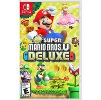 Super Mario Bros. U Deluxe (Nintendo Switch) Brand New Sealed