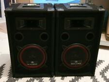 Malone PA Lautsprecher Set, 2-Wege Lautsprecher, Passivboxen, 2 x 500 W
